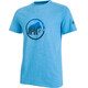 Mammut Trovat Shortsleeve Shirt Men blue